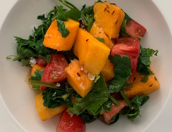 pumpkin salad 74escape