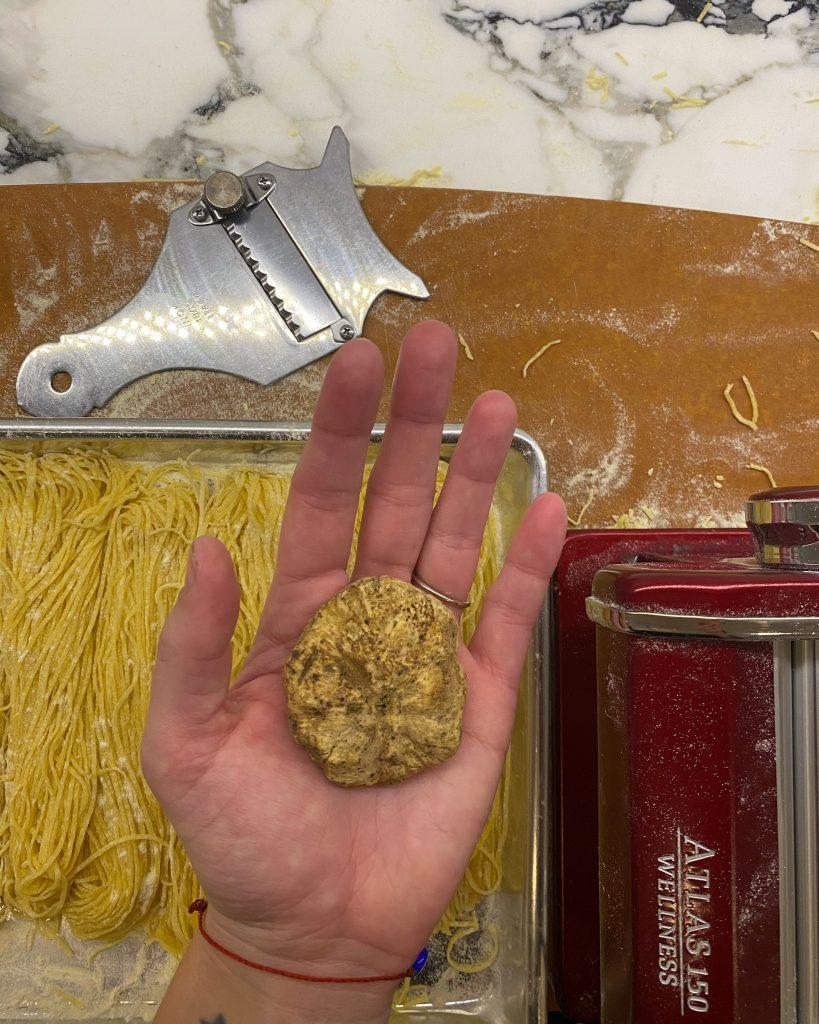 white truffle tagliolini vera loulou recipe 74escape